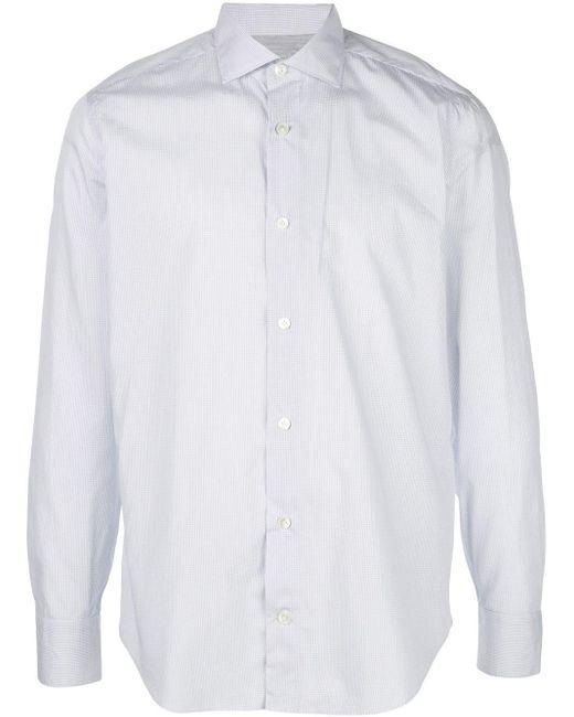 メンズ Eleventy スリムフィット シャツ White