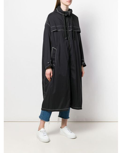 Moncler フーデッドコート Black