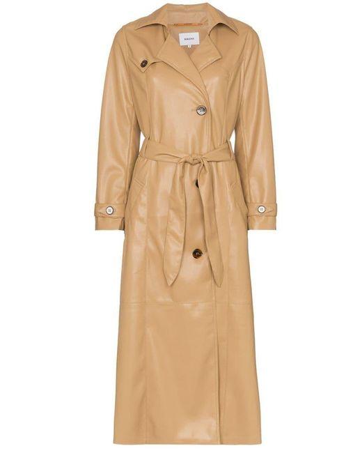 ac8dc97f001 Nanushka Chiara Trench Coat in Natural - Save 60% - Lyst