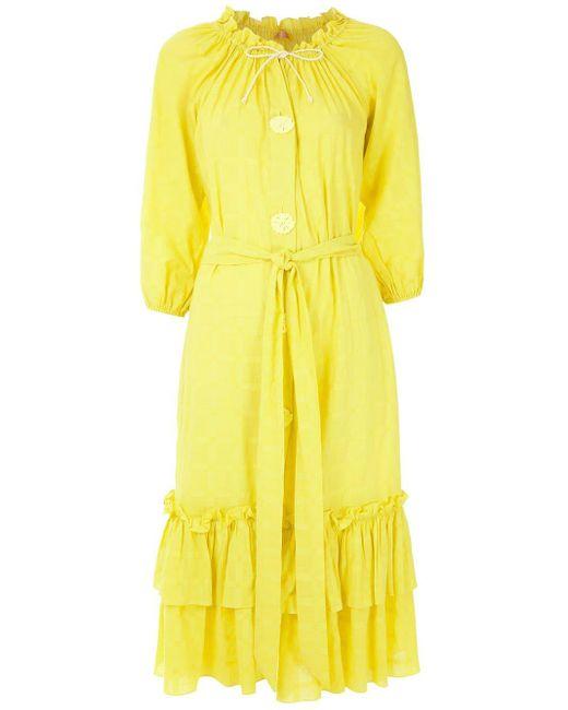Clube Bossa Valerie ドレス Yellow