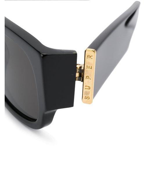 980b6e91a505 ... Retrosuperfuture - Black Super By Smile Rectangular Sunglasses - Lyst