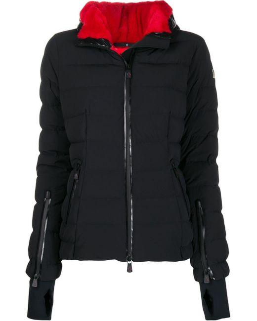 3 MONCLER GRENOBLE パデッドジャケット Black