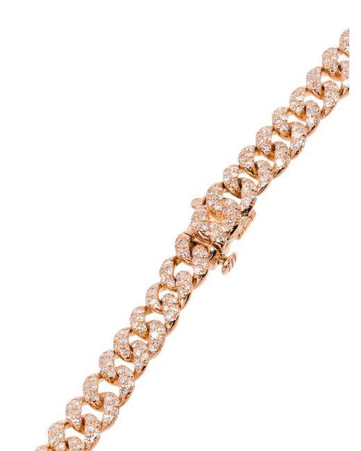 SHAY ダイヤモンド ブレスレット 18kローズゴールド Metallic