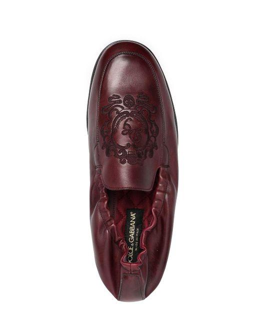 メンズ Dolce & Gabbana ローファー Red