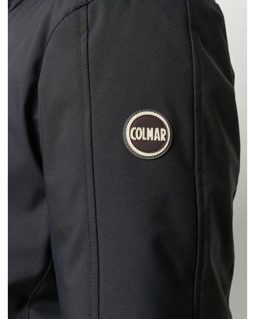 メンズ Colmar ジップ パデッドジャケット Black