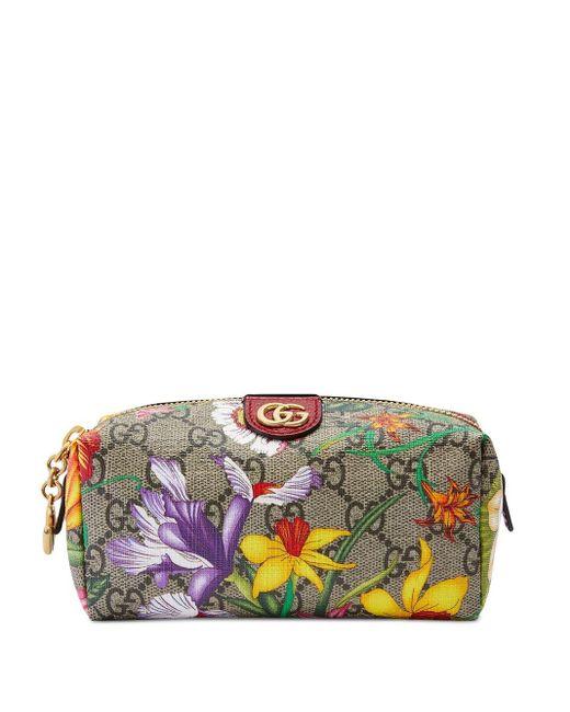 Gucci オフィディア GG フローラ コスメポーチ Multicolor