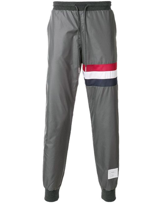 Thom Browne | Gray X Colette Stripe Track Pants for Men | Lyst