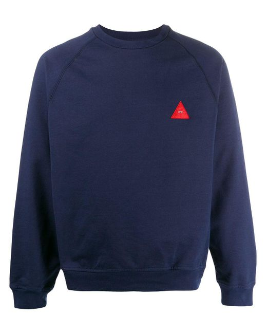 メンズ GR-Uniforma ラグランスリーブ スウェットシャツ Blue