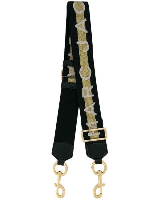 Marc Jacobs ロゴ バッグストラップ Metallic