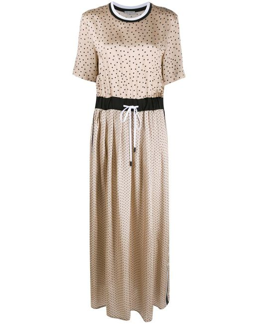 Peserico ポルカドット ドレス Multicolor