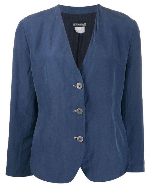 Giorgio Armani 1990's シングルジャケット Blue