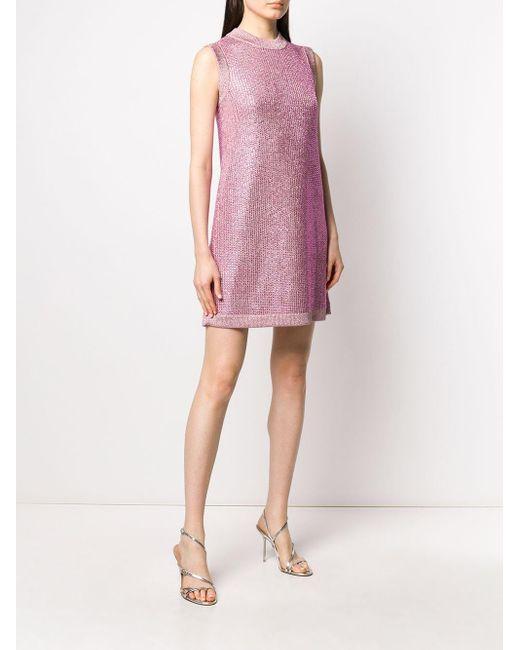 Gucci ビジュートリム ドレス Pink