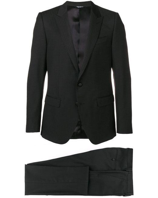 メンズ Dolce & Gabbana ツーピース スーツ Black