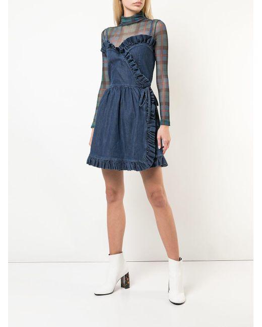 Stella McCartney デニム ドレス Blue