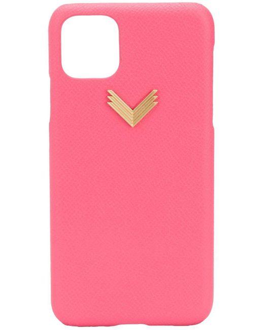 Manokhi Iphone 11 Max ケース Pink