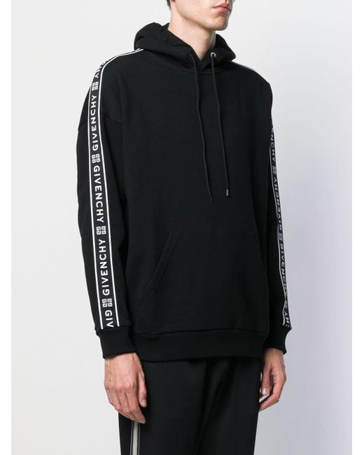 265ff76dcae0 ... Givenchy - Black 4g Webbing Hoodie for Men - Lyst ...