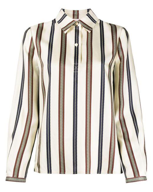 Рубашка В Полоску Tory Burch, цвет: Multicolor