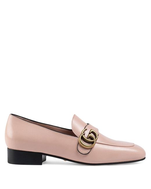 Лоферы GG Marmont Gucci, цвет: Pink