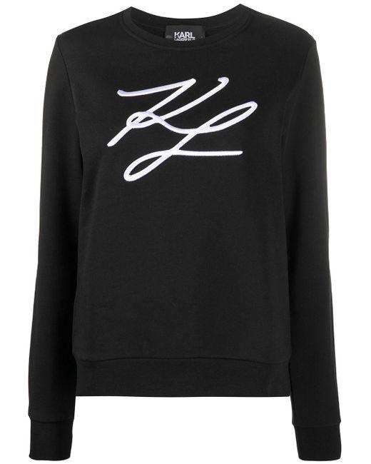Karl Lagerfeld スウェットシャツ Black