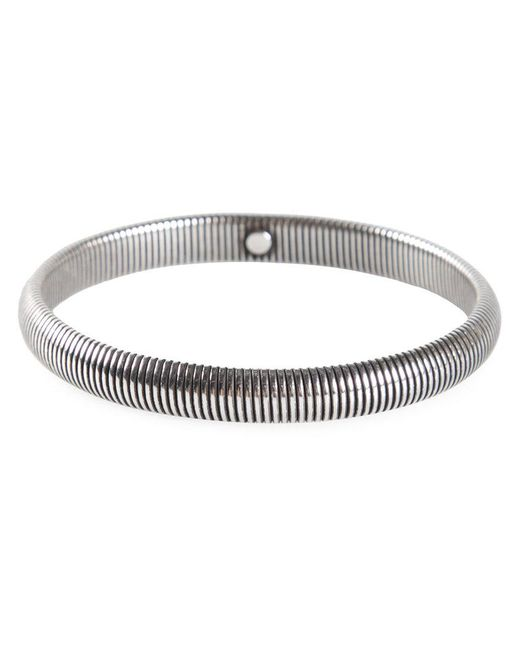 Janis Savitt - Metallic Narrow Cobra Bracelet - Lyst