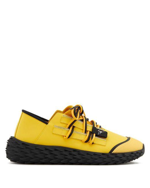 メンズ Giuseppe Zanotti Urchin スニーカー Yellow