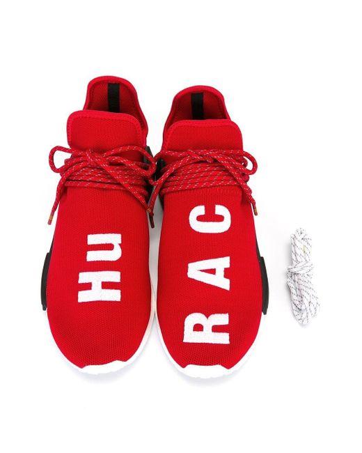 メンズ Adidas Pw Human Race Nmd スニーカー Red