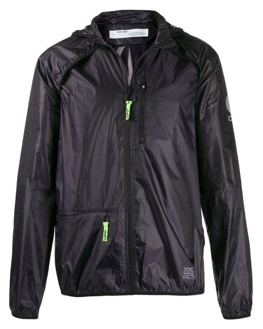 Легкая Куртка С Капюшоном Off-White c/o Virgil Abloh для него, цвет: Black