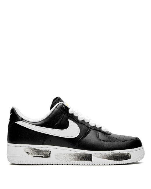 "Nike Black Air Force 1 ""g-dragon Peaceminusone Para-noise"" Sneakers for men"