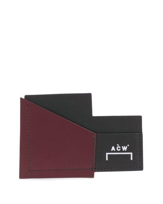 メンズ A_COLD_WALL* V2 カードケース Black