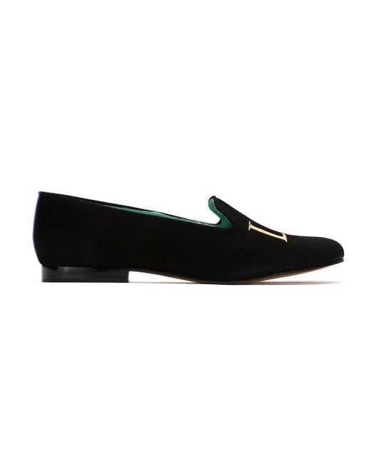 Blue Bird Shoes Love ミュール Black