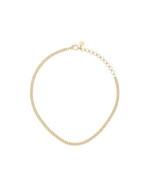 SHAY Baby Link ダイヤモンド チョーカー 18kイエローゴールド Metallic