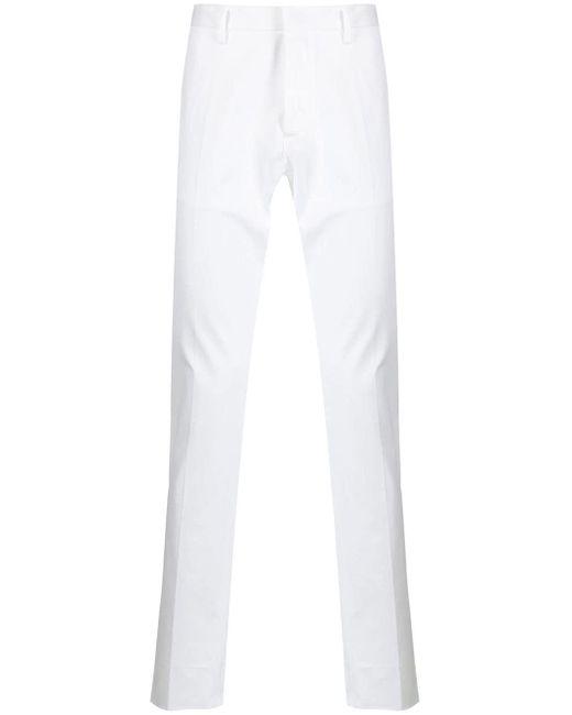 メンズ DSquared² スローガン Tシャツ White