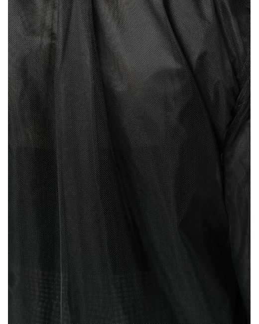 Comme des Garçons シアーシャツ Black