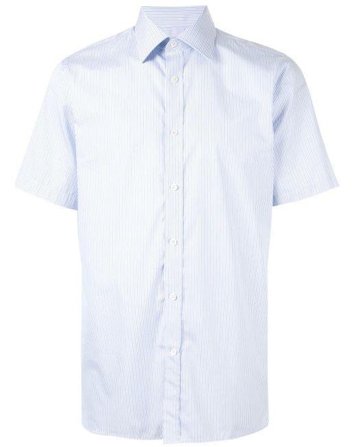 メンズ Gieves & Hawkes ストライプ シャツ White