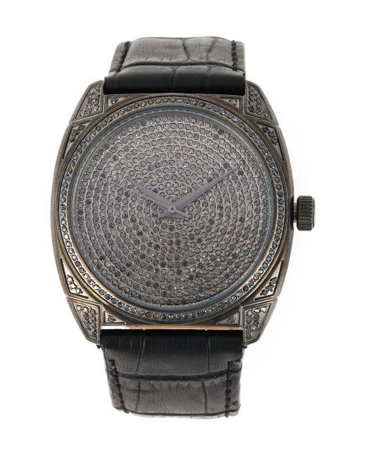 Christian Koban 'dom' Diamond Watch in het Black