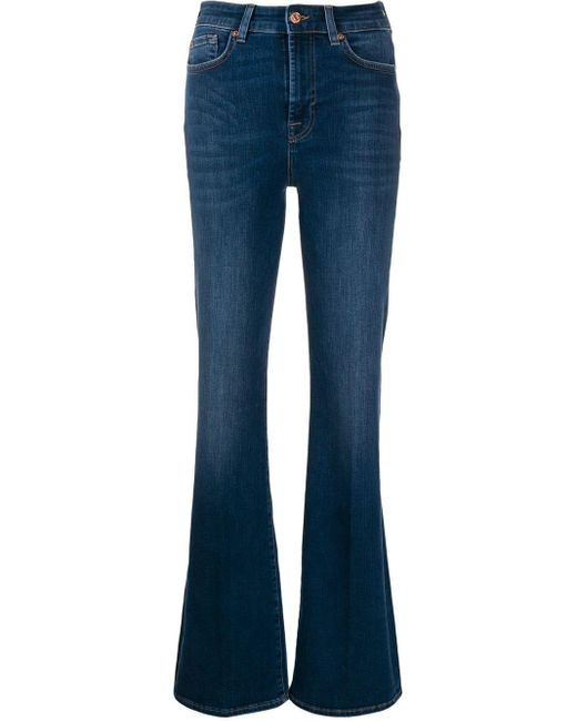 7 For All Mankind Illusion スリムジーンズ Blue