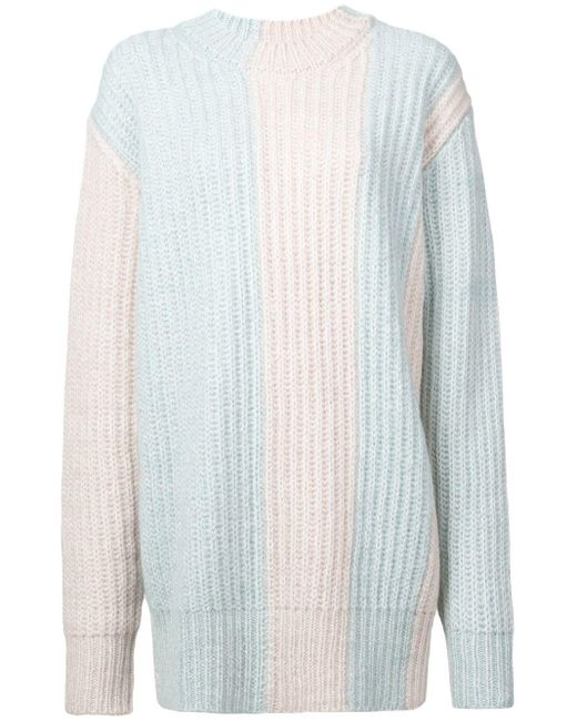 CALVIN KLEIN 205W39NYC Knitted Sweater White