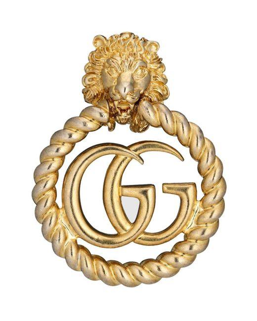 Gucci GGコイン イヤリング Metallic