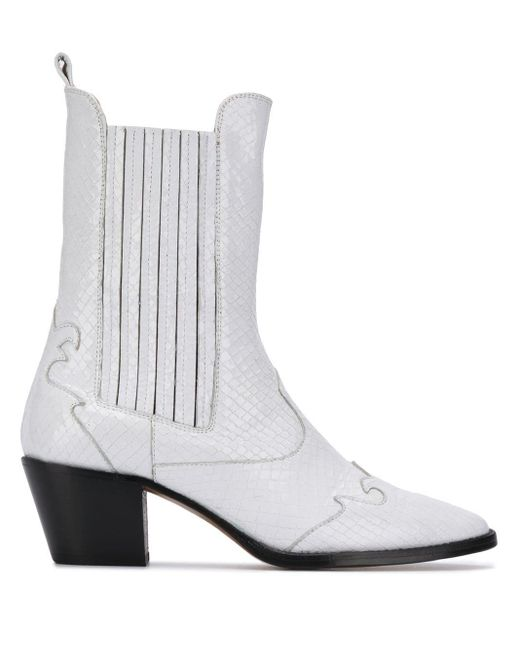 Paris Texas Px173s White Calf Leather