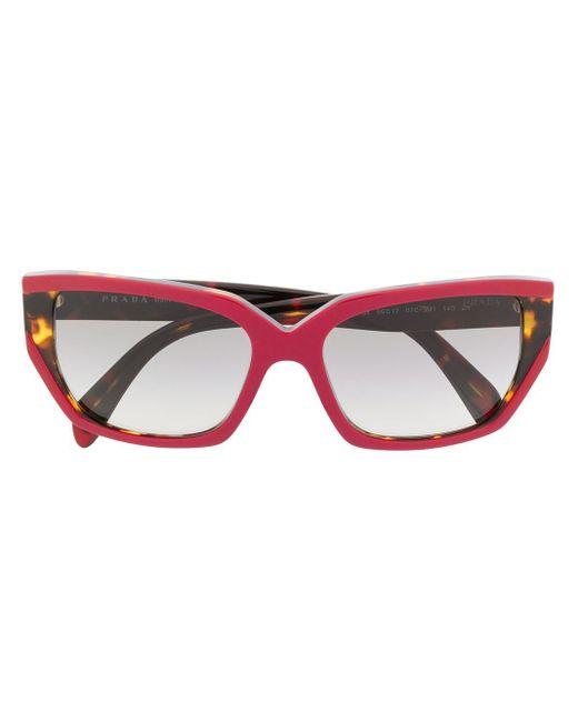 Prada Red 'PR15XS' Sonnenbrille
