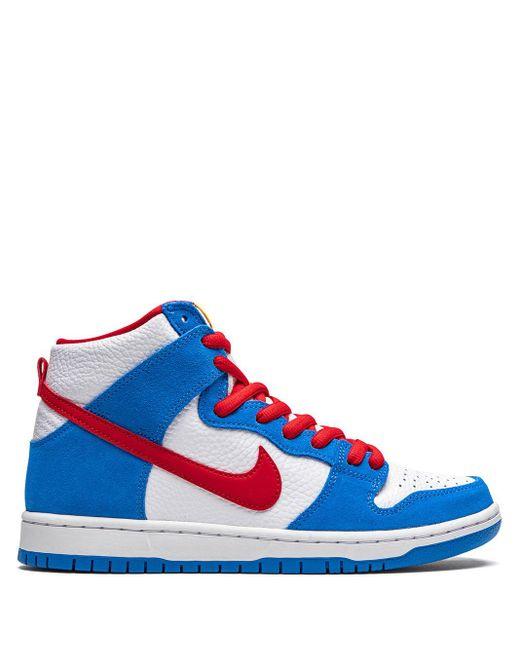 メンズ Nike Sb Dunk High Doraemon スニーカー Blue