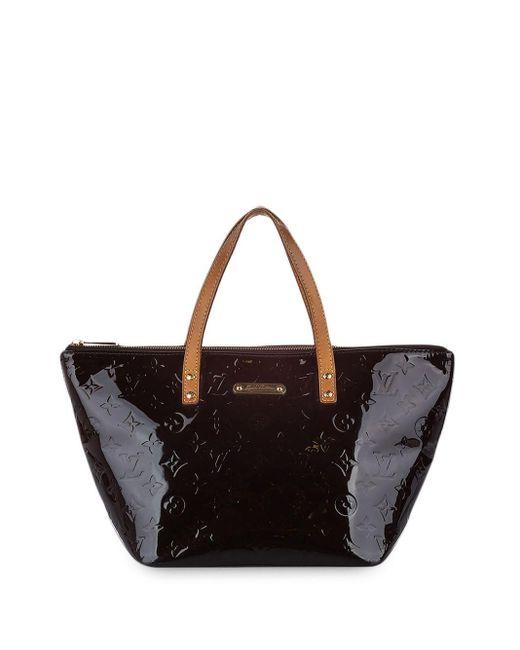 Сумка-тоут Vernis Bellevue Pm Louis Vuitton, цвет: Black