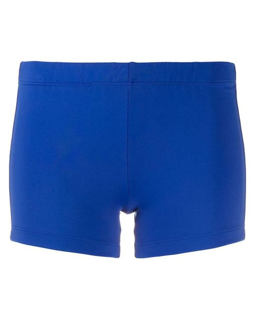 Styland スリム ショートパンツ Blue