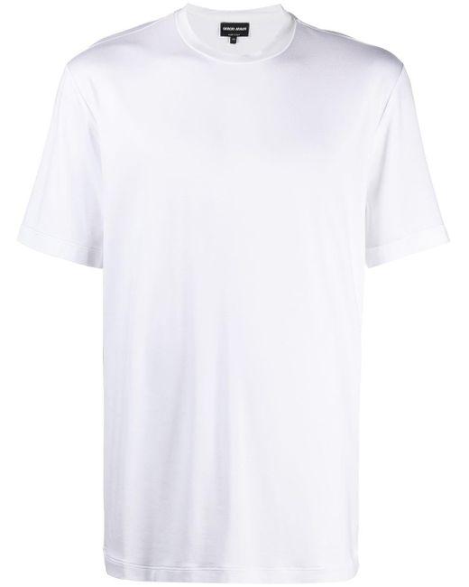 メンズ Giorgio Armani コットン Tシャツ White