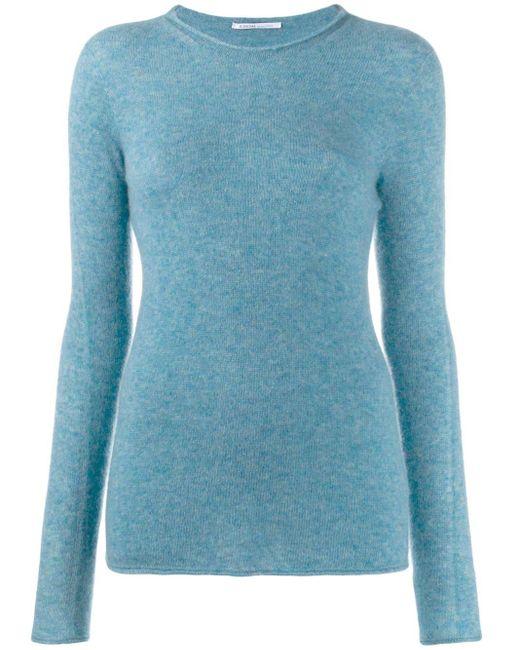 Agnona スリムフィット セーター Blue