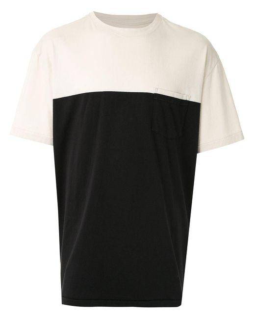 メンズ Osklen チェストポケット Tシャツ Black