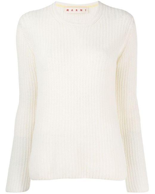 Marni クルーネック セーター Multicolor