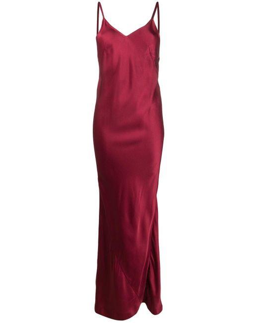 Haider Ackermann スリップドレス Red
