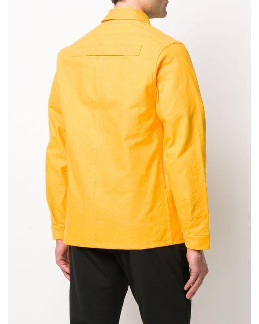 メンズ Junya Watanabe ロゴ ジャケット Yellow