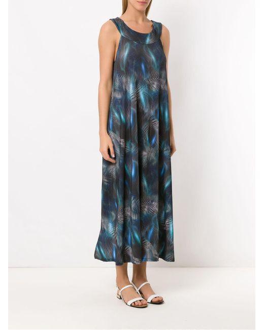 Printed Manati Dress Lygia & Nanny, цвет: Blue